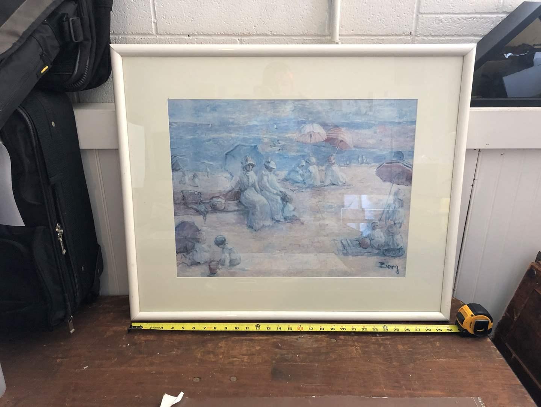 Lot # 98 - BORG FRAMED ART  (main image)