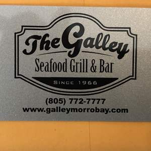 Auction Thumbnail for: Lot # 103 - THE GALLEY $100 GIFT CERTIFICATE