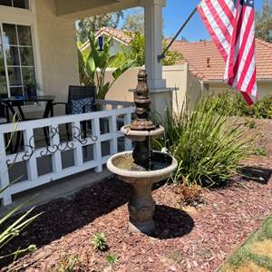 Lot # 3- Whimsical water fountain