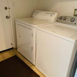 Lot # 20- Whirlpool washer/ Kenmore gas dryer combo