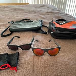 Lot # 28- KTM bag, Atsuta sunglasses + more