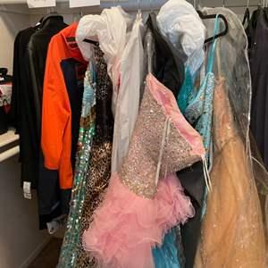 Lot # 32- Fancy evening dresses in multiple sizes!