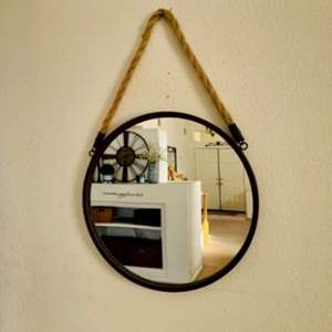 Lot # 41- Must- have circle mirror + extras!