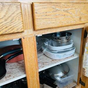 Lot # 49- New and used kitchen items!