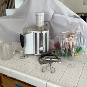 Lot # 51- Bella juicer and more!