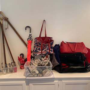 Lot # 78- Cole Haan purse and other closet treasures!