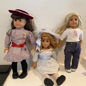 Lot # 83- American Girl dolls!