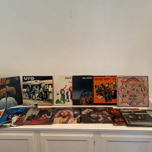 Lot # 86- Awesome vinyl records! Includes iconic artists like ABBA