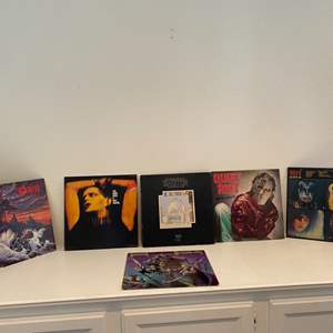 Lot # 87- Vintage vinyl rock albums