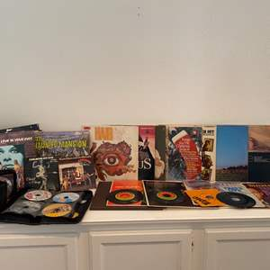 Lot # 91- Music collection mother load!