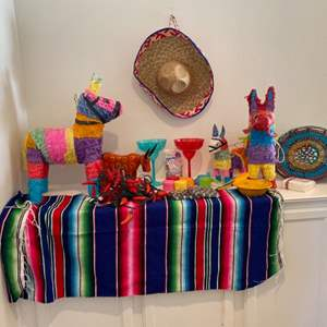 Lot # 93- Fiesta time! Everything you need for a summer party