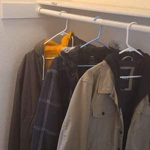 Lot # 100- Excellent men's jackets!