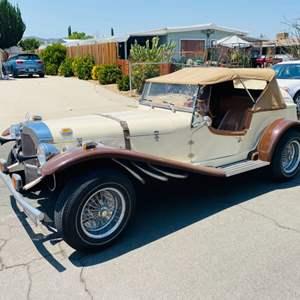 Lot#1- Beautiful 1929 Mercedes Benz Gazelle Replica (2013- Ford Engine)