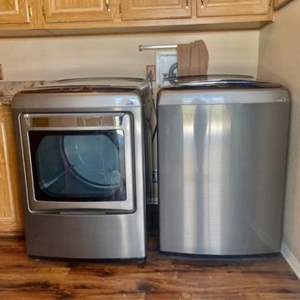 Lot#2- Kenmore Elite Washer and Dryer