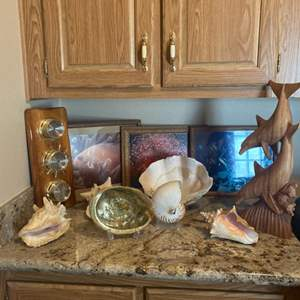 Lot#3- Under the Sea! Enchanting Decor and a Vintage Weather Station