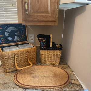 Lot#11- Everything You Need for a Romantic Date Night! Picnic Basket + More