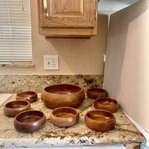 Lot#14- Vintage Wooden Bowls!