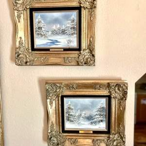 Lot#45- Two Oil Paintings by Barrister