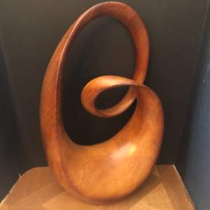 Lot#46- St. Clair Abstract Wood Sculpture