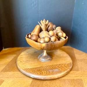 Lot#51- Vintage Wooden Fruit Basket