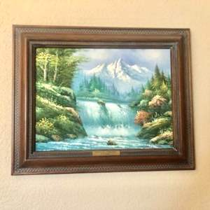 Lot#52- Oil Painting by W. Chapman