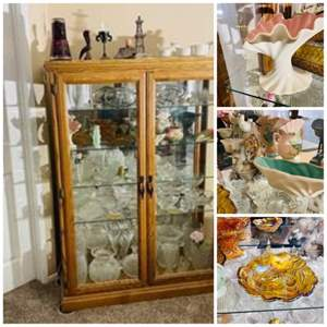 Lot#63- Amazing Glass + Curio Lot (Including Catalina Pottery) Look at all pictures