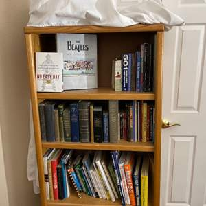 Lot#101- Two Bookshelves and Books