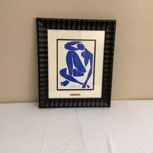 Lot#121- Signed Print by....You Guessed it! Henri Matisse!