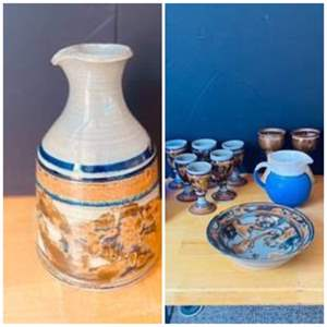 Lot#138- Beautiful Pottery Pieces- see all pictures