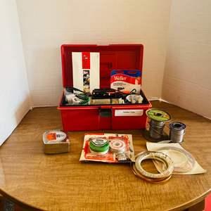 Lot#155- Vintage Soldering Kit