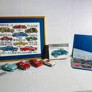 Lot#172- Franklin Mint Collectible Cars!