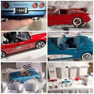 Lot#173- The Franklin Mint Collectors Cars!