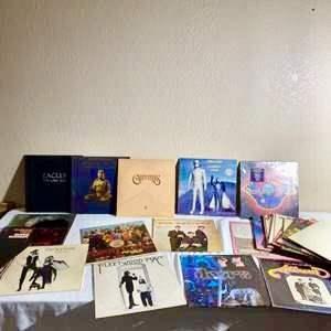 Lot#178-Vinyl Records MEGA Lot! Beatles, Doors, Eagles+++