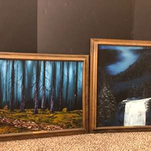 Lot#182- 2 Oil Paintings by Gene Archer