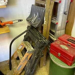 Lot # 303- Step It Up- Ladders, Toolboxes and More!