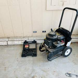 Lot # 320- Pressure Washer and Extras