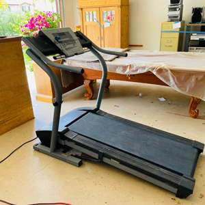 Lot # 7- Nordic Track Treadmill EXP2000- Works Great- We Tested it out!