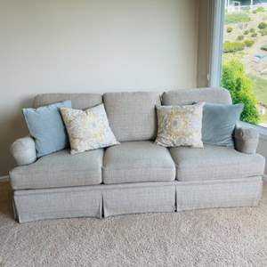 Lot # 13- Beautiful Bassett Sofa- New Condition