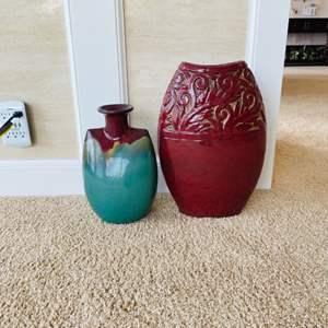 Lot # 14- Gorgeous Statement Vases