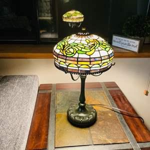 Lot # 19- Classic, Tiffany Reproduction Lamp