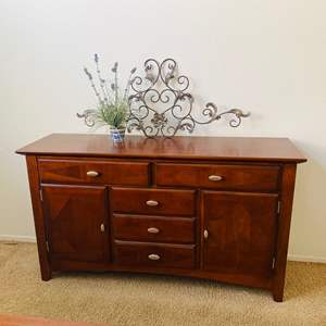 Auction Thumbnail for: Lot # 4-Buffet Table Set + Extras