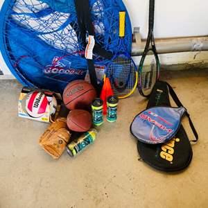 Lot # 69-Sports Equipment