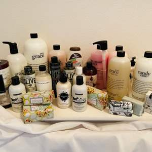 Lot # 92-Brand Name Collection of Lotions, Shampoo's, Bath Oils, and More!