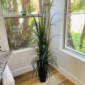 Lot # 2- Tall, beautiful, Faux Plant