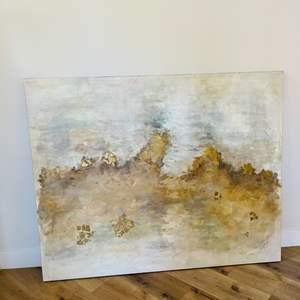 Lot # 11- Large Canvas Art