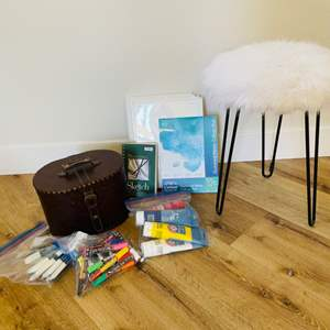 Lot # 17- Art Supplies And More
