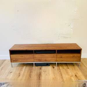 Lot # 24-Crate & Barrel Mid-Century Modern Table