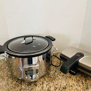 Lot # 40- All-Clad Slow Cooker
