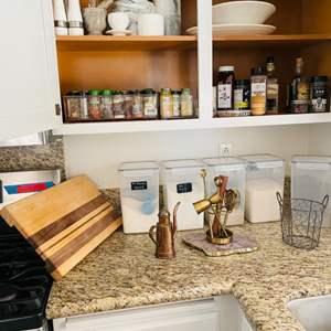 Lot # 46- Miscellaneous Kitchen Items