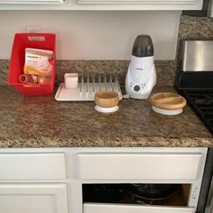 Lot # 52- Baby Items- Bottle Warmer + More